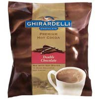 Ghirardelli Double Chocolate Hot Cocoa - Qty 30, 1.5 Ounce Bags